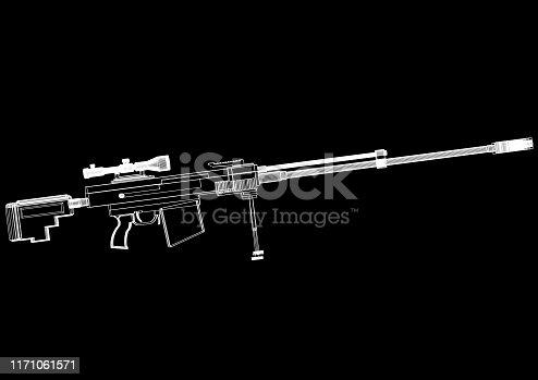 istock sniper rifle 1171061571