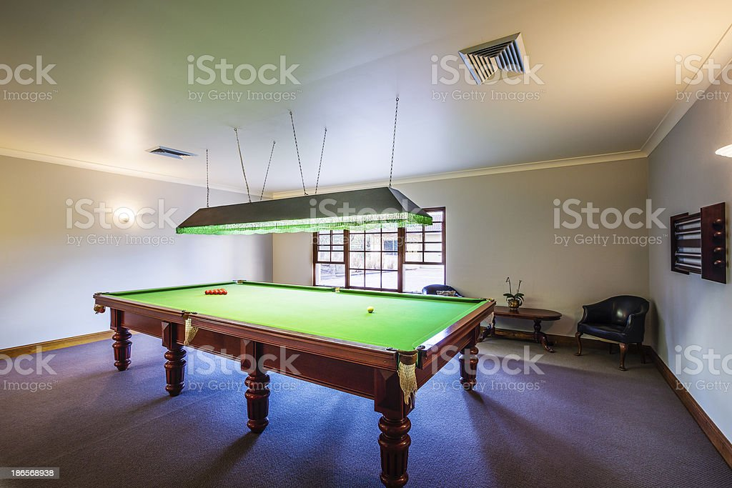 Snooker royalty-free stock photo