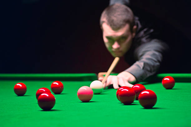 snooker - cue ball stock pictures, royalty-free photos & images