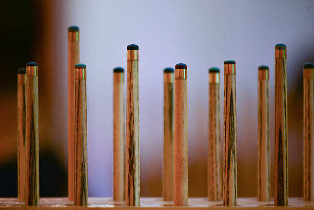 snooker - pool cue stock photos and pictures