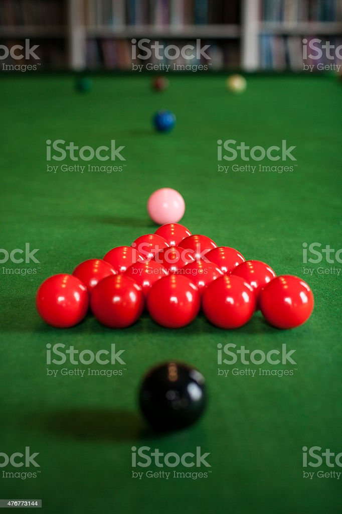 Snooker table set up ready to play royalty-free stock photo & Snooker Table Set Up Ready To Play Stock Photo u0026 More Pictures of ...