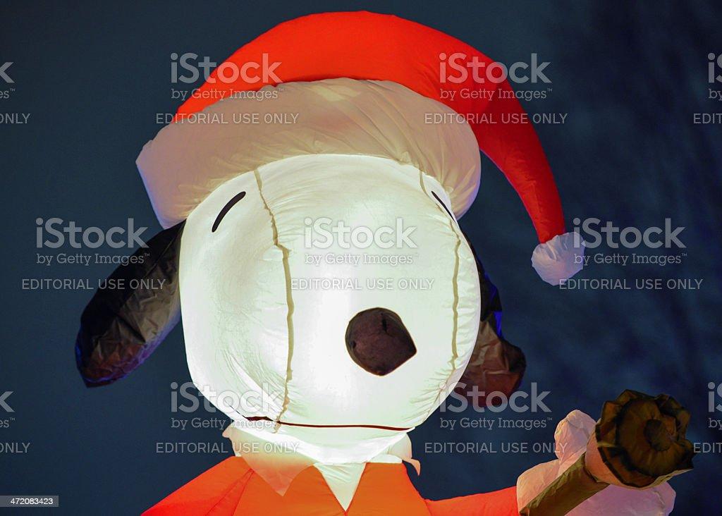 Snoopy Weihnachten Aufblasbarer Stock-Fotografie und mehr Bilder von ...