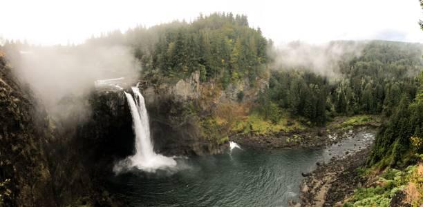 snoqualmie falls - snoqualmie foto e immagini stock