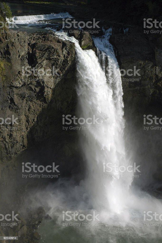 Snoqualmie Falls royalty-free stock photo