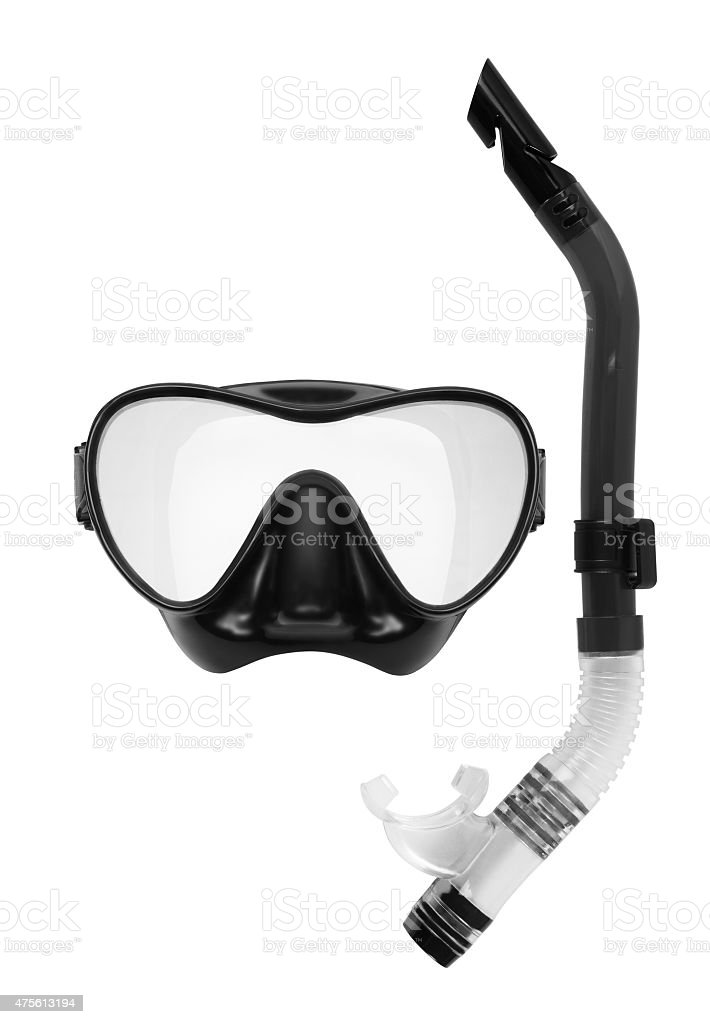 Snorkel and Mask for Diving stock photo