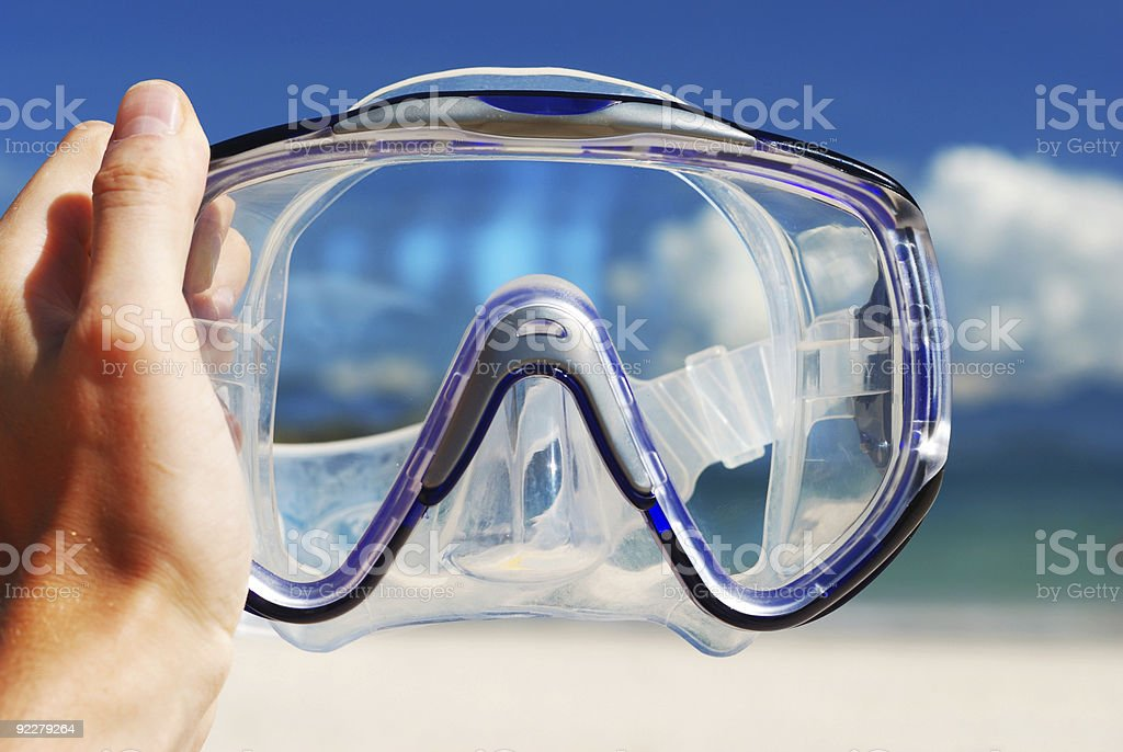 Snorkel equipment royalty-free stock photo
