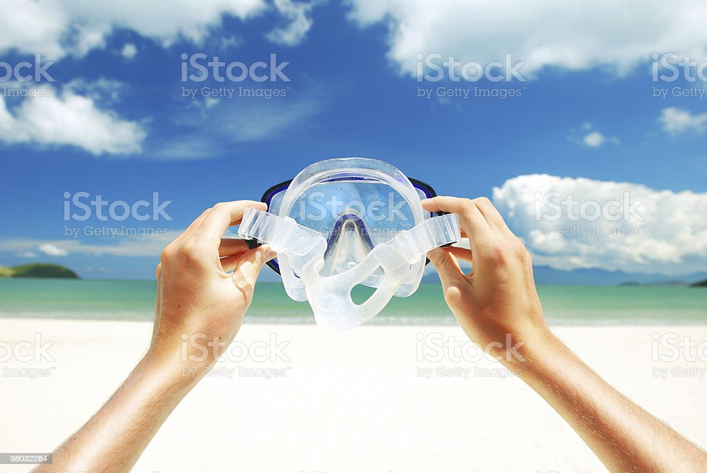Snorkel equipment royalty-free stock photo