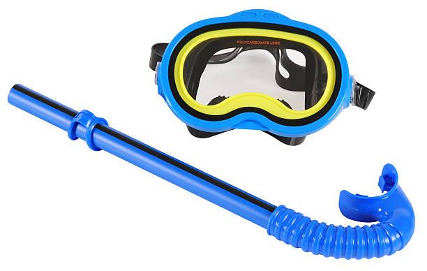 Snorkel mask. stock photo