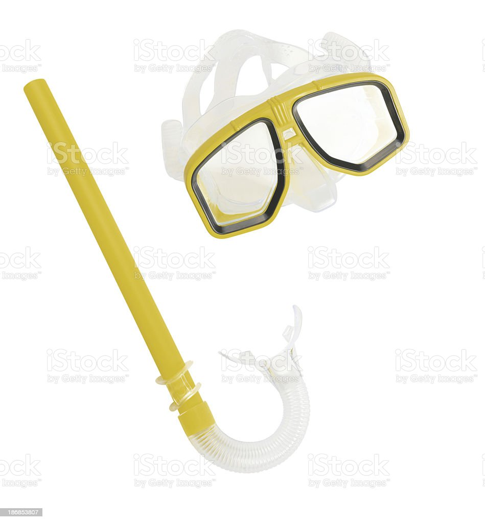 Snorkel (Click for more) stock photo