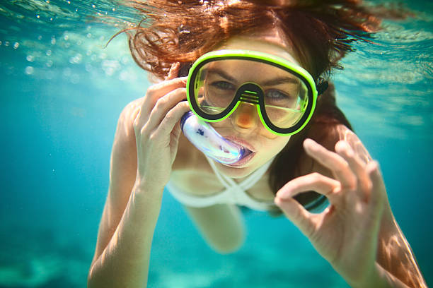 Snorkeling  snorkel stock pictures, royalty-free photos & images
