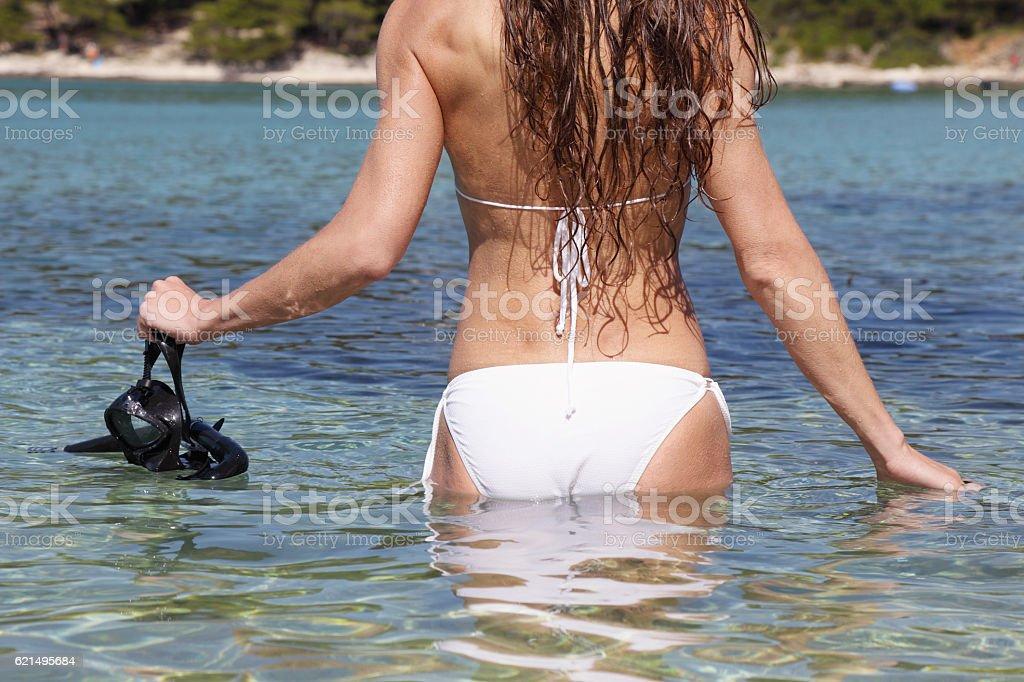 Snorkeling foto stock royalty-free