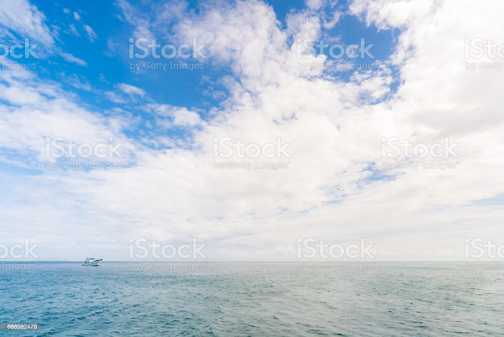 Snorkeling point Phuket royalty-free stock photo
