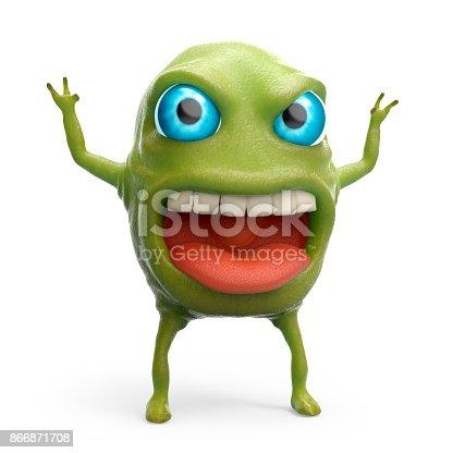 istock snot slime monster 866871708