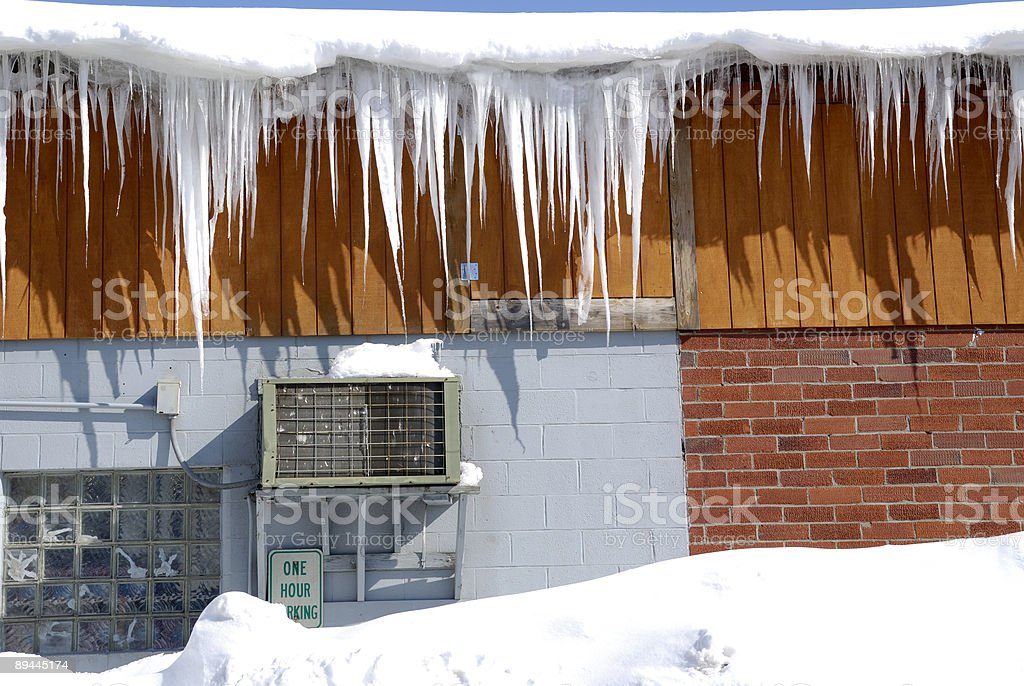 Snow and Ice royalty-free stock photo