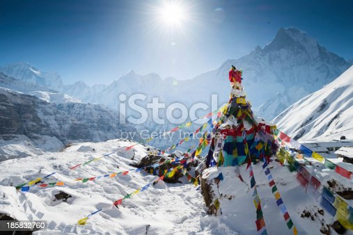 Annapurna base camp at 4310 Meter above sea level