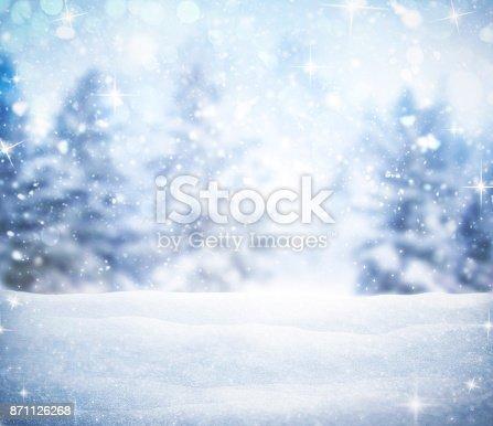 istock snow background 871126268