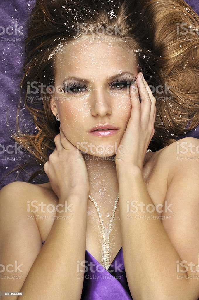 Snow Beauty royalty-free stock photo