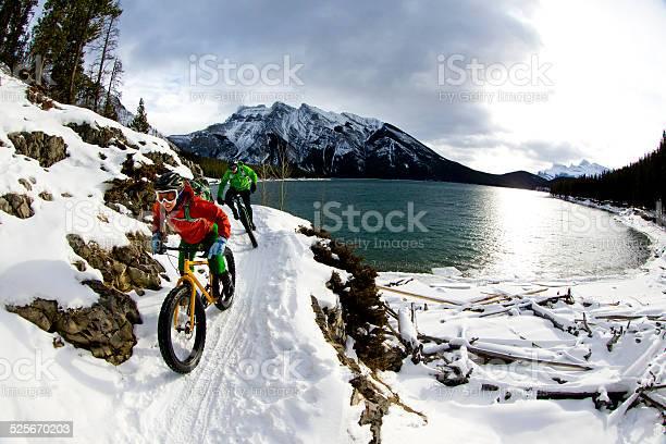 Snow biking couple picture id525670203?b=1&k=6&m=525670203&s=612x612&h=vy6cpnrnbrvgwbgpqw3sdhqinsjn7tpjpewpgaxy7ag=