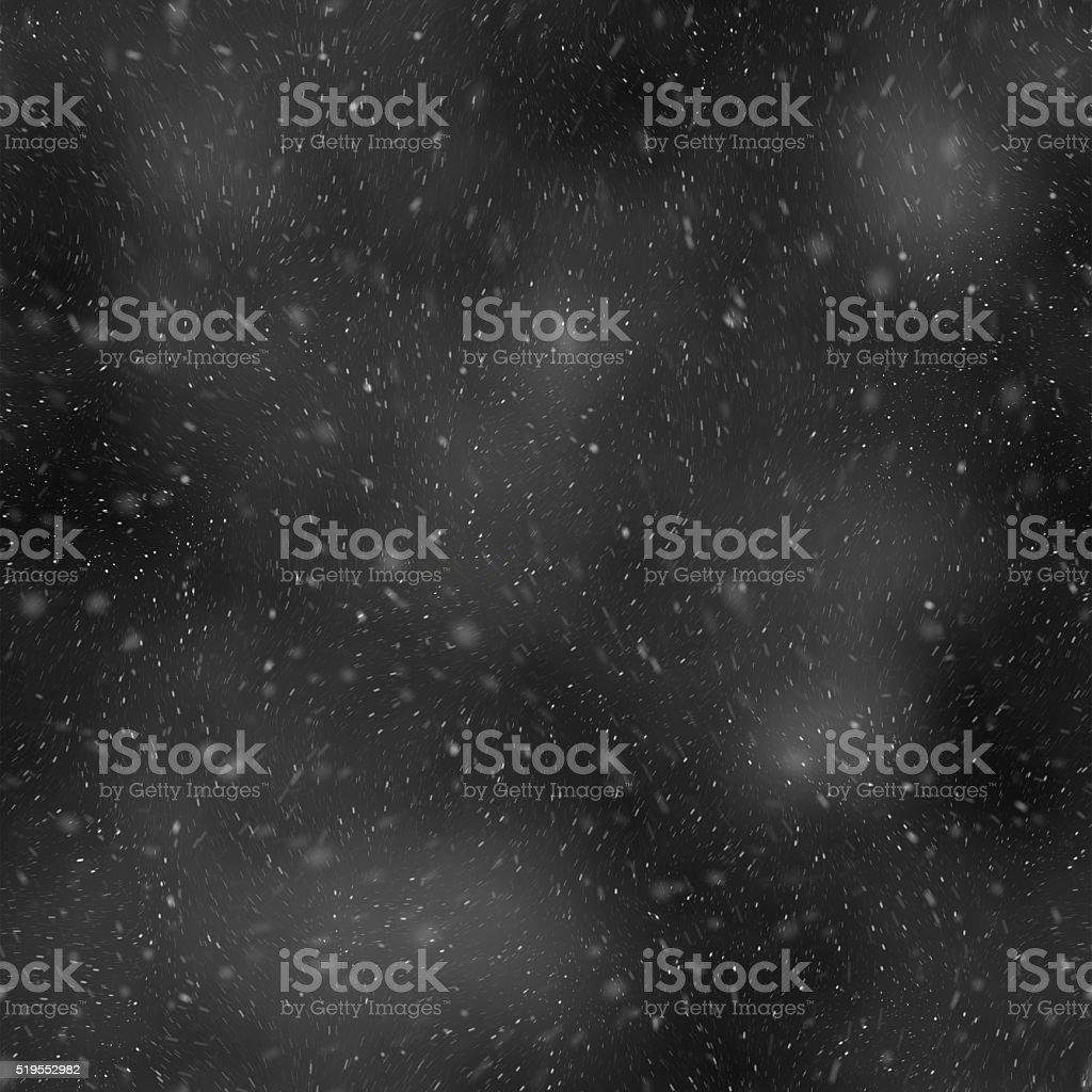 Snow Blizzard Seamless Background stock photo