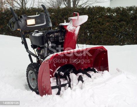 istock snow blower 145839105