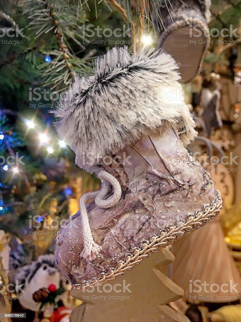 Snow Boot stock photo