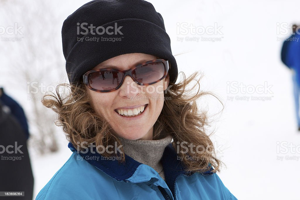 Snow Bunny stock photo