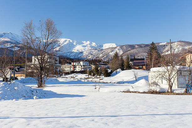 Snow country in central Japan. – Foto
