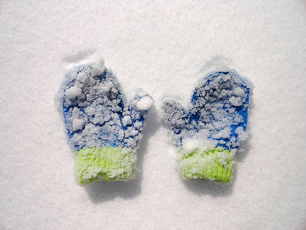 Snow Covered Mittens