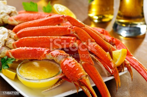 Snow crab legs - Please see my portfolio for other food related images.