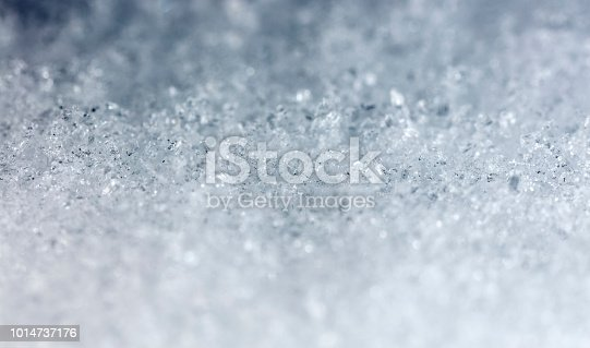 istock snow crystals, snow 1014737176