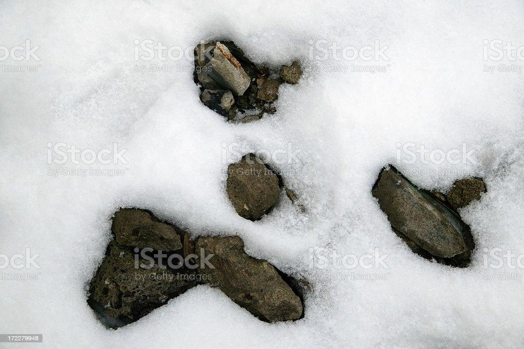 snow Gesicht – Foto