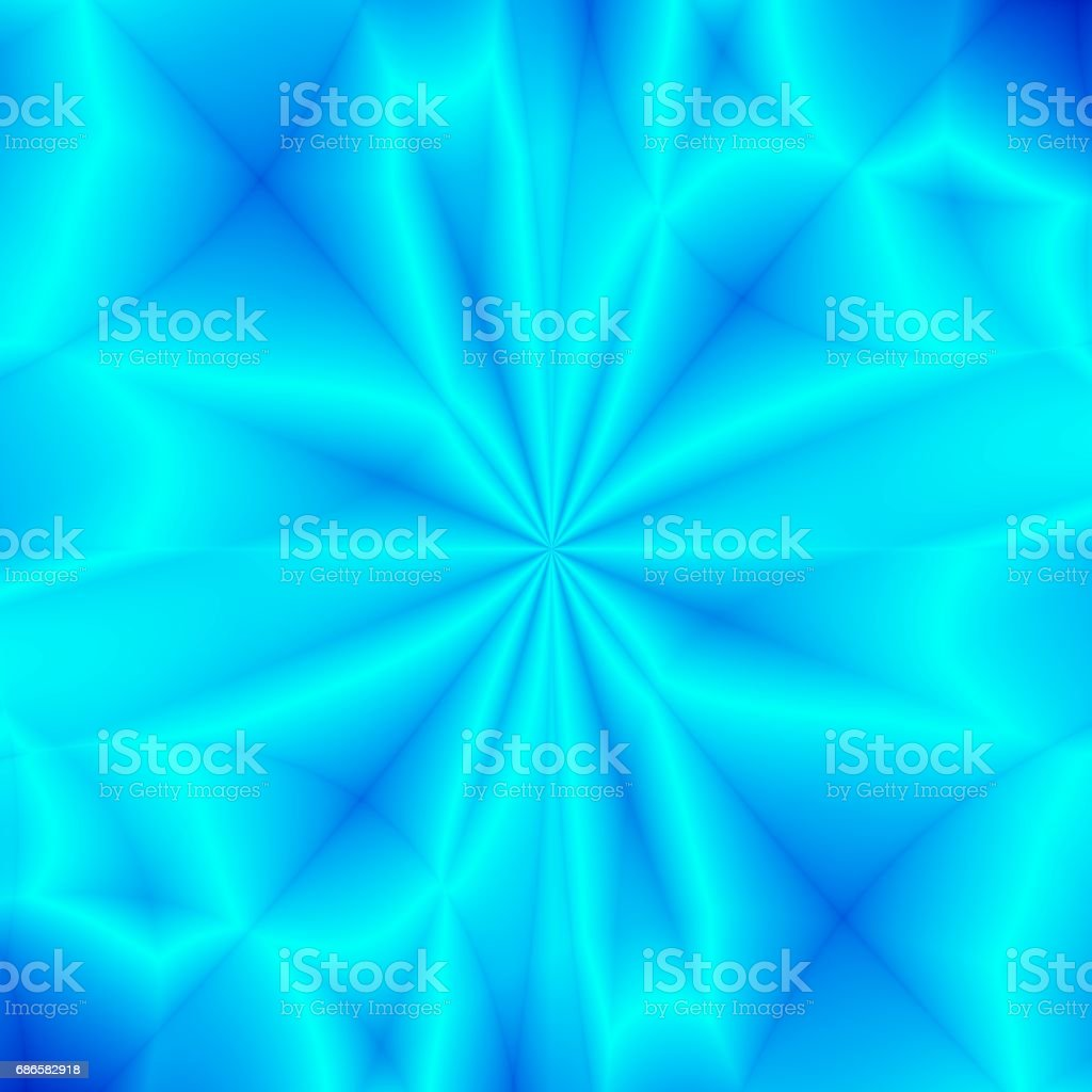 Snow flake abstract blue neon background royalty-free stock photo