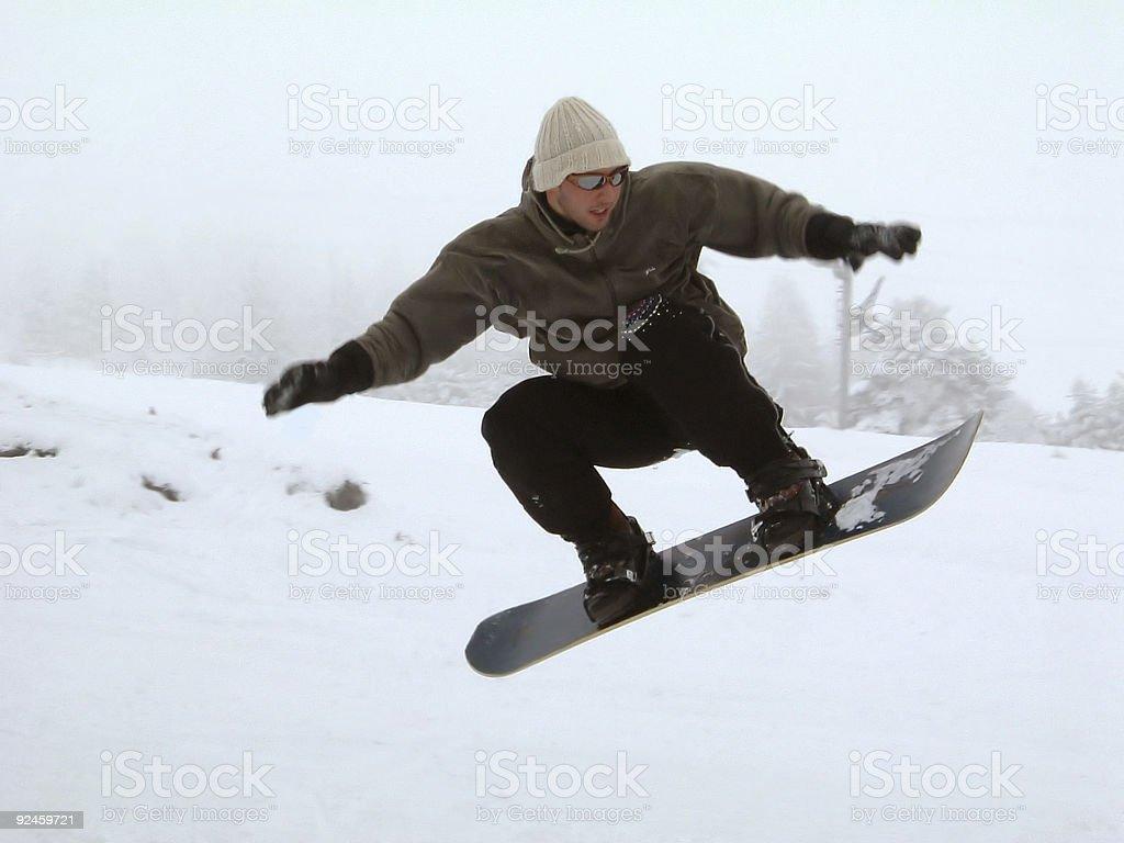 Snow Fun 1 royalty-free stock photo