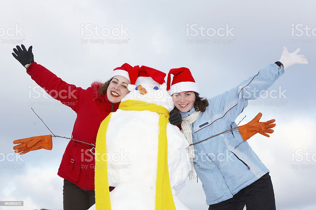 snow games royalty-free stock photo