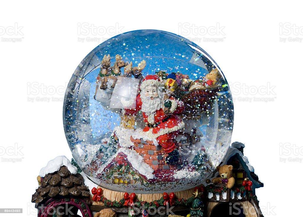 Snow Globe royalty-free stock photo