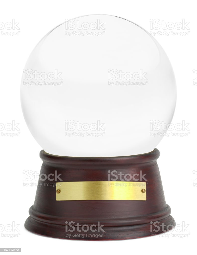 Snow Globe stock photo