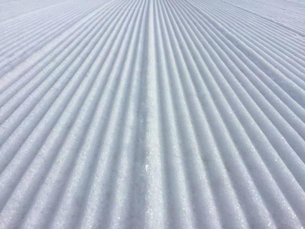 Snow Grooves stock photo