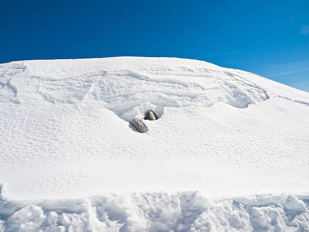 snow heap - snow pile stock photos and pictures