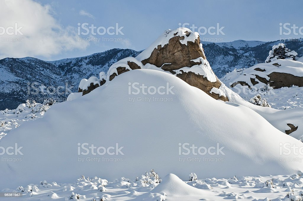 Snow Hill foto stock royalty-free