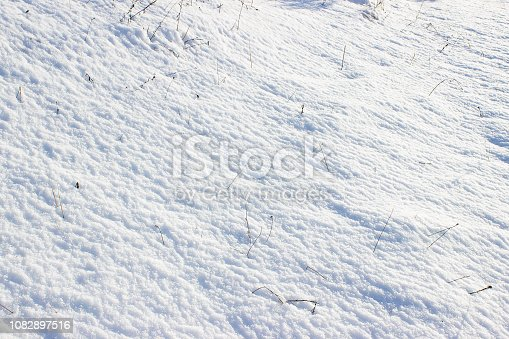 istock Snow hill winter background abstract. 1082897516