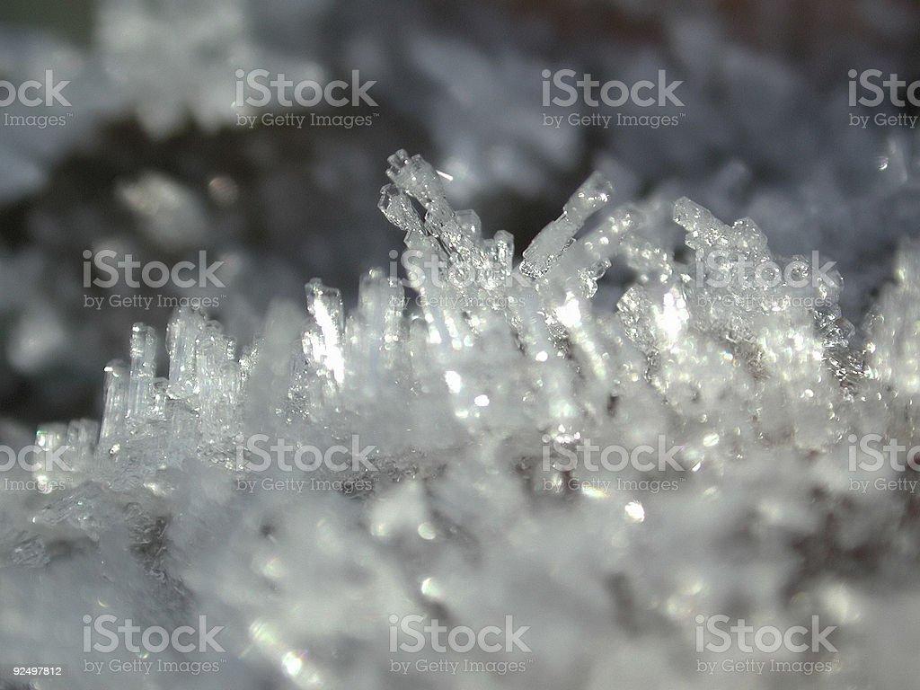 snow ice royalty-free stock photo