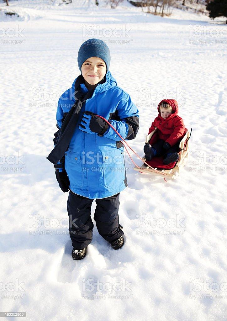 Snow Kinder – Foto