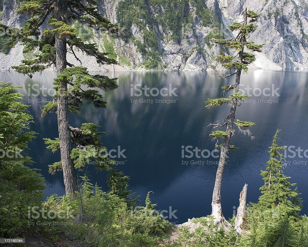 Snow Lake royalty-free stock photo
