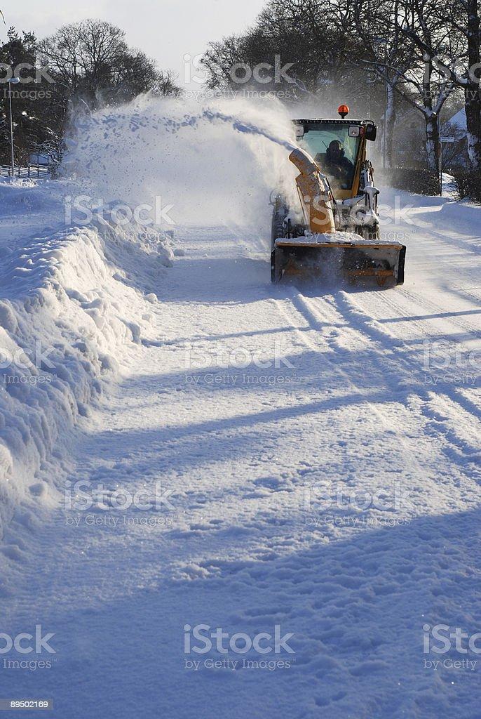 Snow machine royalty-free stock photo