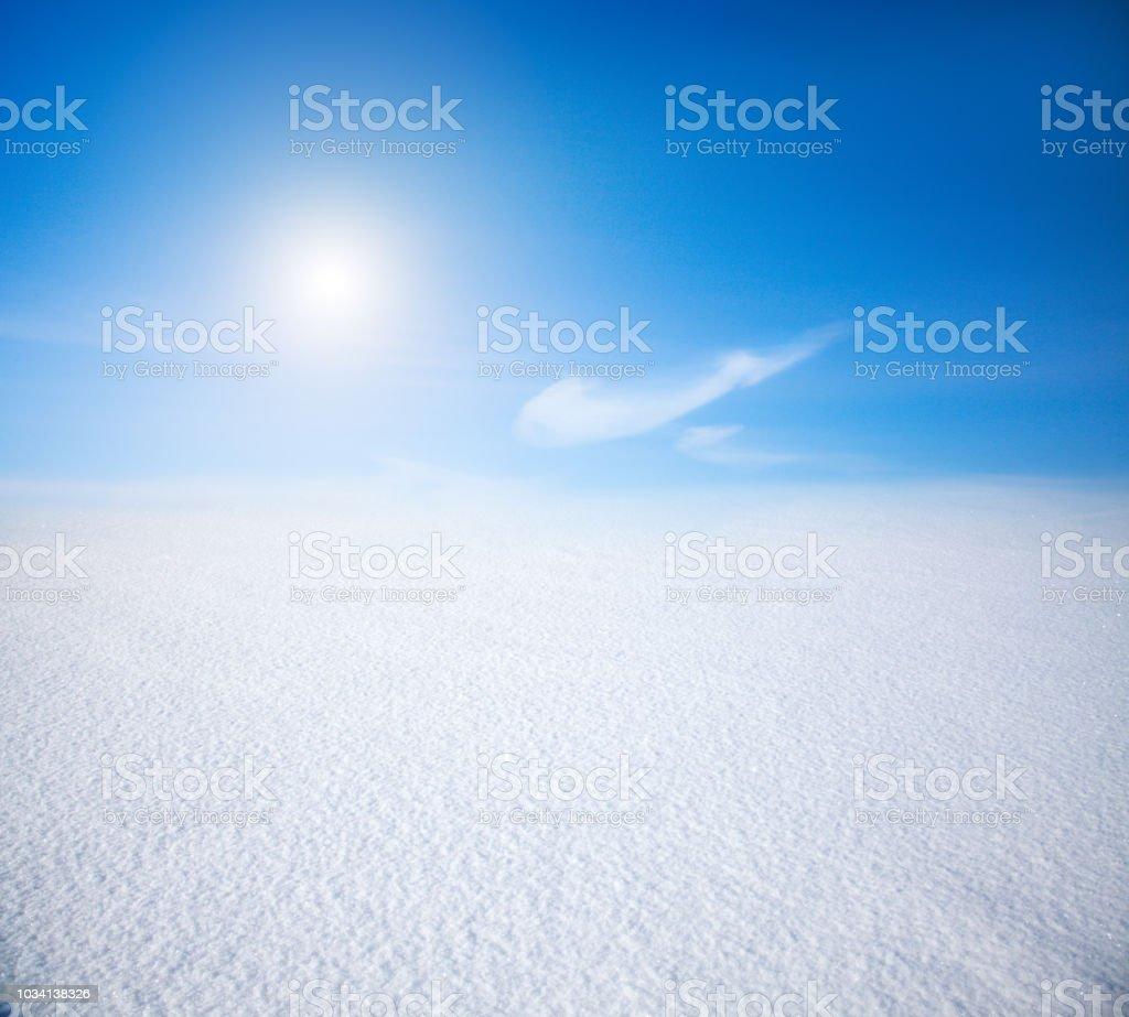 snow mountain und blauem Himmel – Foto