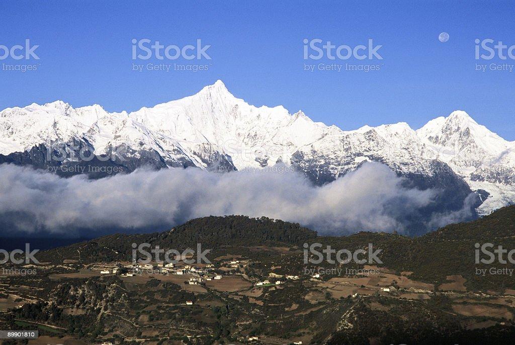 Snow Mountain Lizenzfreies stock-foto