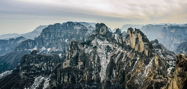 Schnee-Berge – Foto