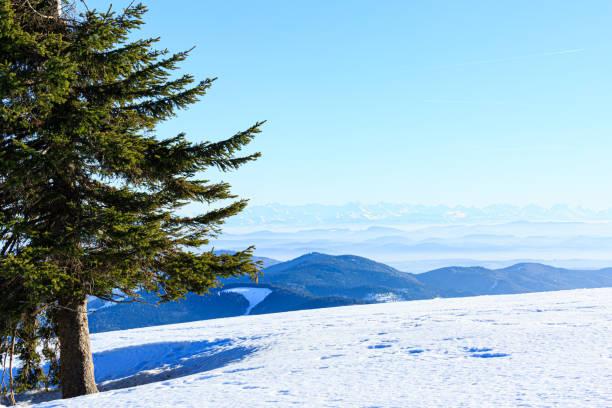Schnee auf dem Belchen – Foto