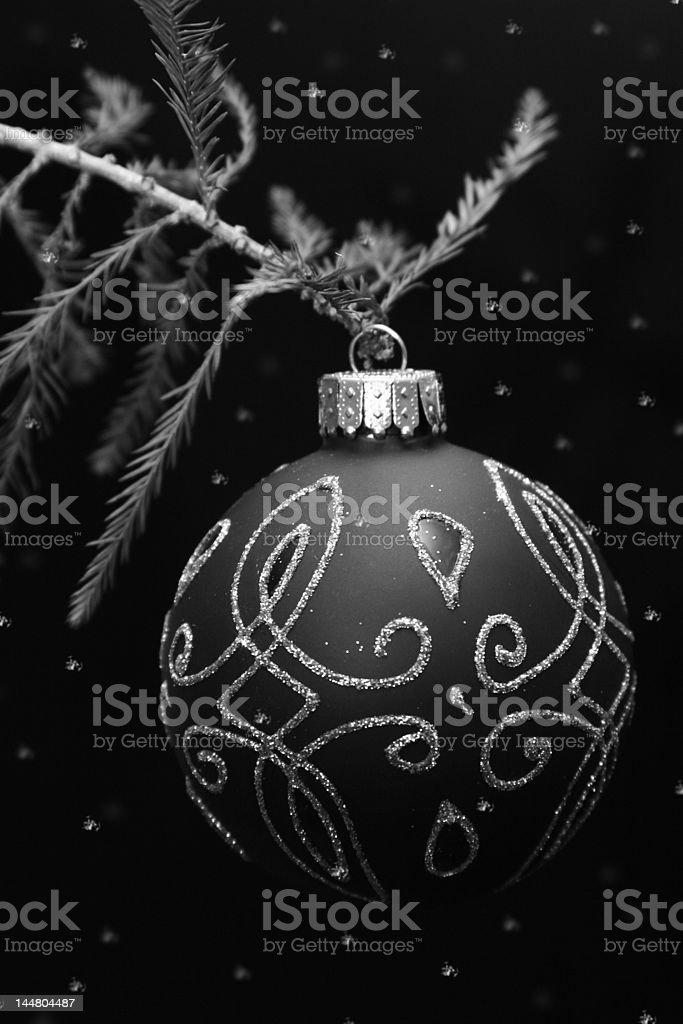 Snow Ornament royalty-free stock photo