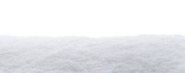 Snow Panorama Isolated stock photo